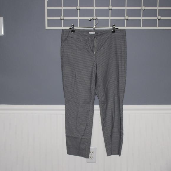J. Jill Pants - Black Plaid Dress Pants